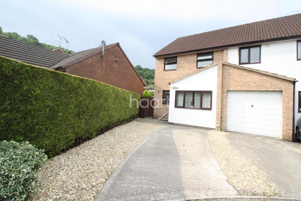 2 Bedrooms Semi Detached House for sale in Mary De Bohun Close, Monmouth, Monmouthshire