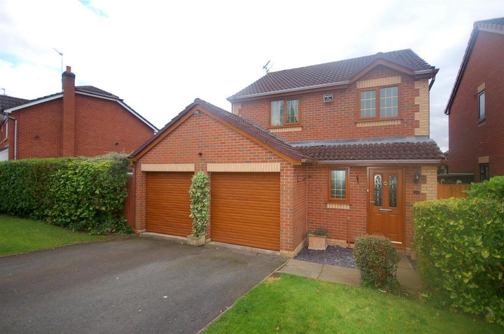 3 Bedrooms Detached House for sale in Keats Drive, Rode Heath