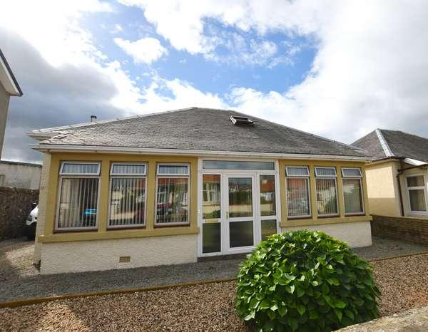 2 Bedrooms Detached Bungalow for sale in 10 Brisbane Street, Largs, KA30 8QN