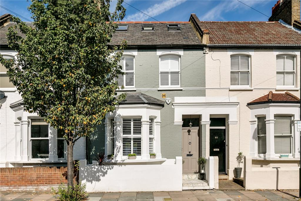 4 Bedrooms Terraced House for sale in Rosaline Road, Fulham, London