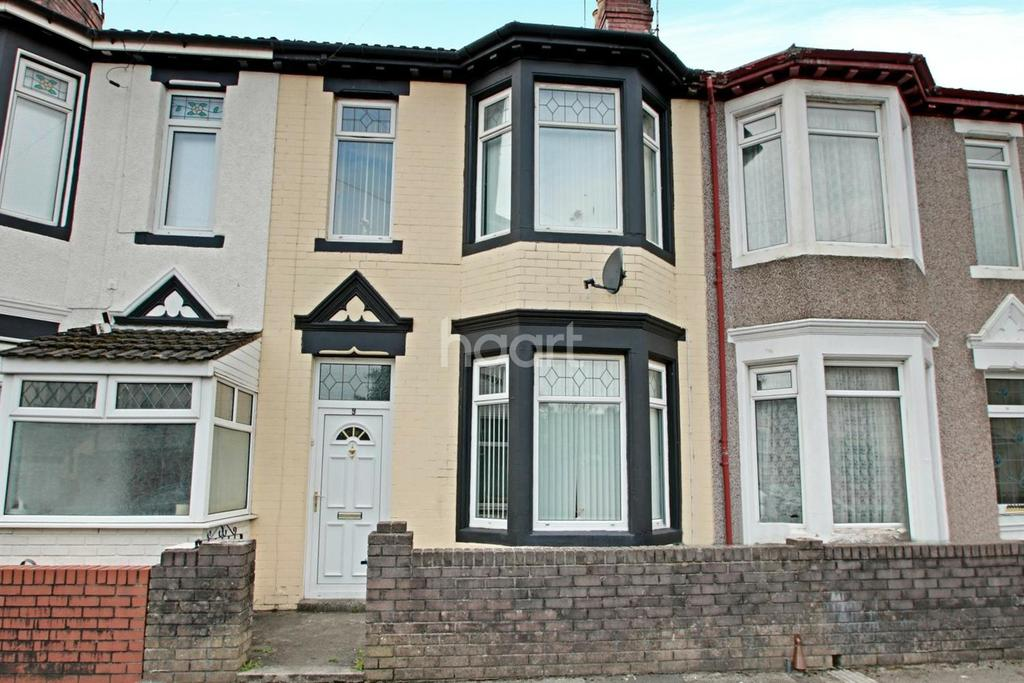 3 Bedrooms Terraced House for sale in Oswald Road, Pillgwenlly, Newport
