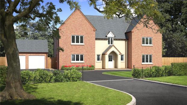 5 Bedrooms Detached House for sale in Tedsmore Grange, Plot 2, West Felton, Oswestry