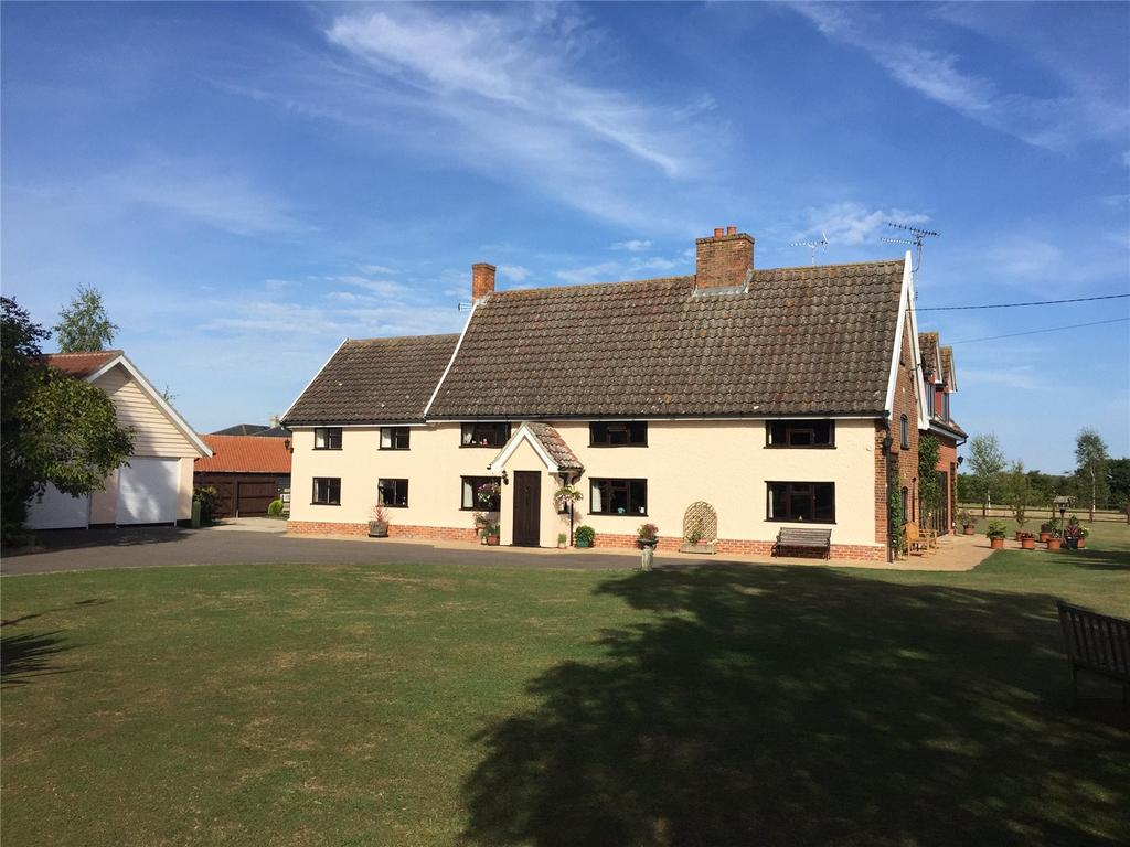 6 Bedrooms Detached House for sale in Mill Road, Peasenhall, Saxmundham, Suffolk, IP17