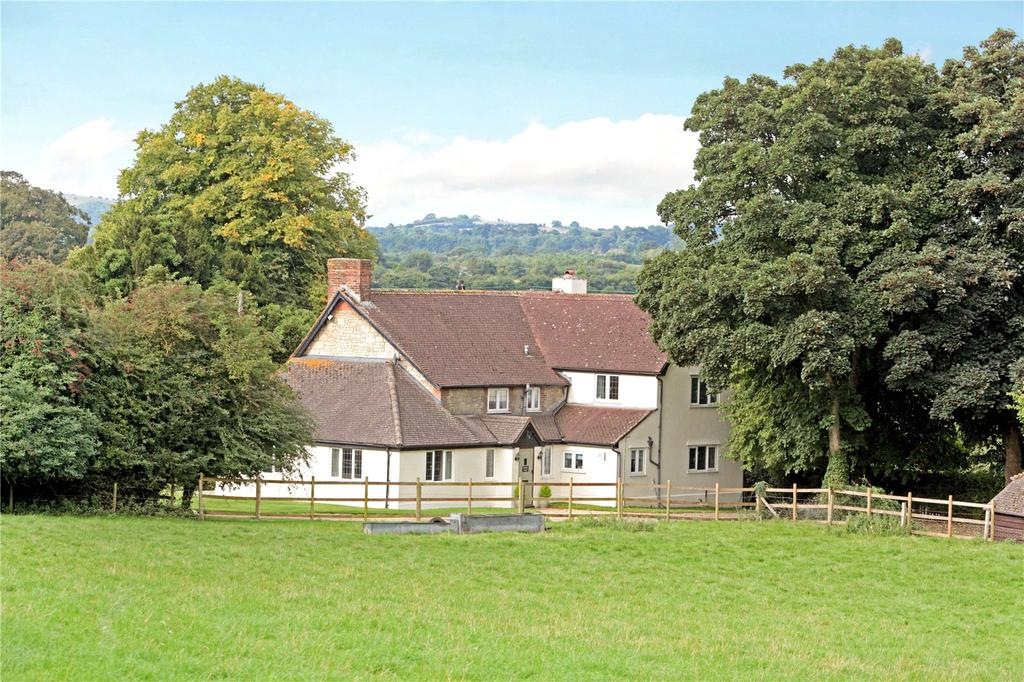 5 Bedrooms Detached House for sale in Whitsans Cross, Donhead St. Andrew, Shaftesbury, Dorset