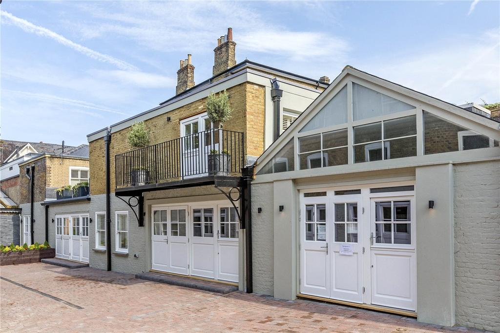 3 Bedrooms Mews House for sale in Friars Stile Road, Richmond, Surrey, TW10