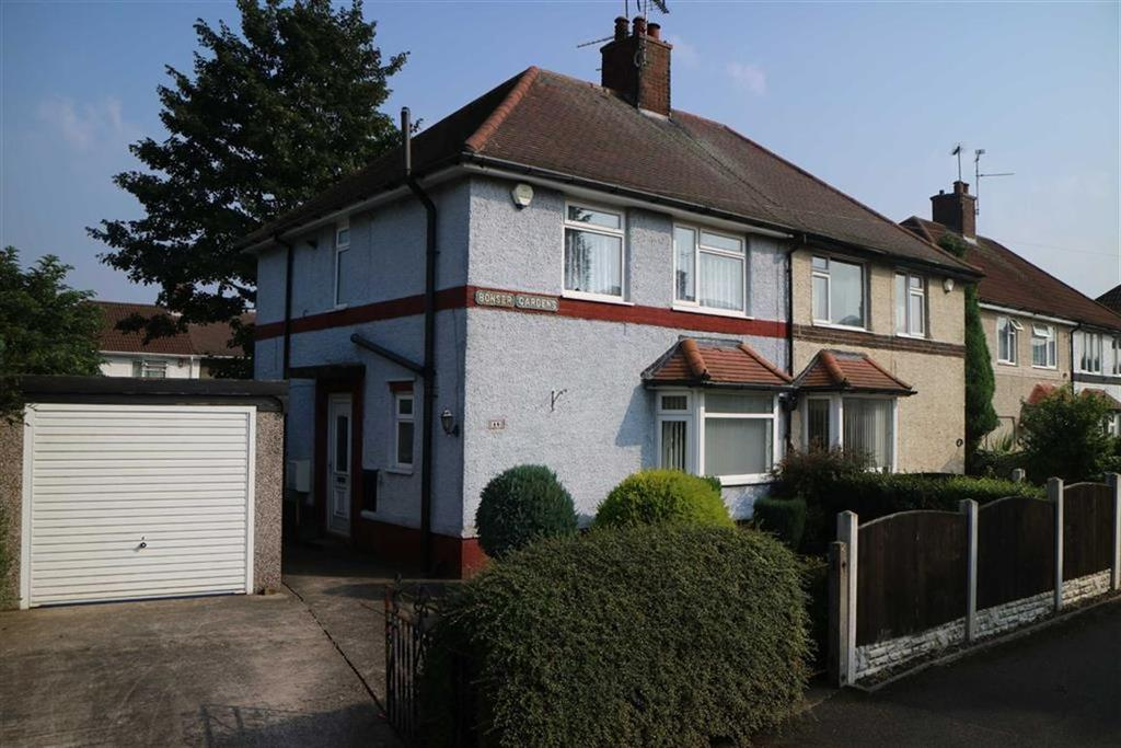3 Bedrooms Semi Detached House for sale in Bonser Gardens, Sutton In Ashfield, Notts, NG17