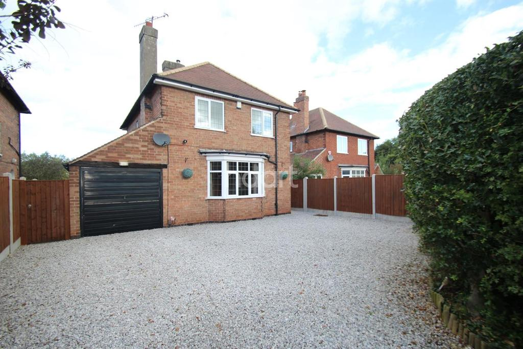 3 Bedrooms Detached House for sale in Grantham Road, Radcliffe-on-Trent, Nottinghamshire