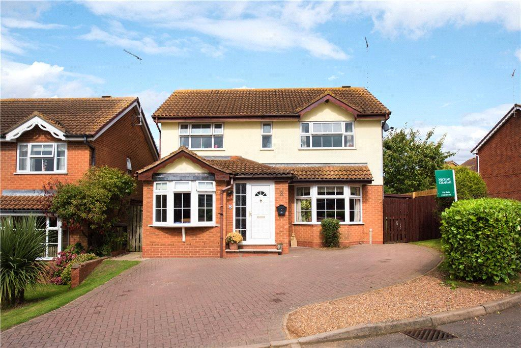 4 Bedrooms Detached House for sale in Sycamore Close, Buckingham, Buckinghamshire