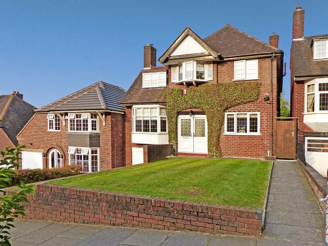 4 Bedrooms Detached House for sale in Leopold Avenue,Handsworth Wood,Birmingham