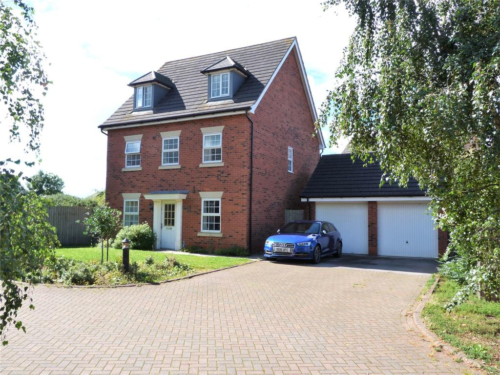 5 Bedrooms Detached House for sale in Naylor Crescent, Stapeley Nantwich, Cheshire, CW5