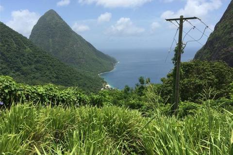 Plot  - Soufriere Land, St Lucia, Caribbean