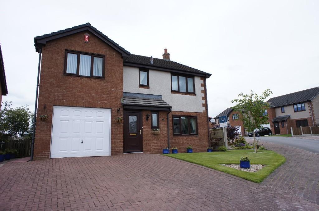4 Bedrooms Detached House for sale in Elm Close, High Hesket, Carlisle
