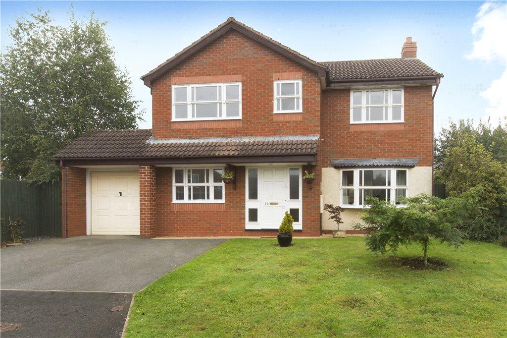 4 Bedrooms Detached House for sale in King Charles Avenue, Powick, Worcester, Worcestershire, WR2