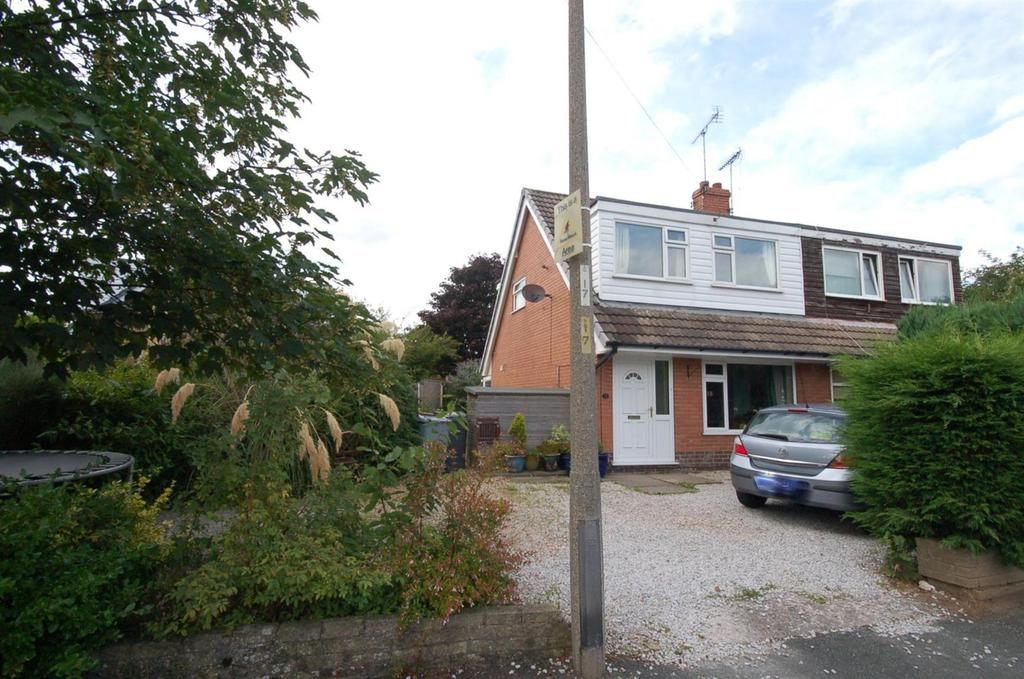 3 Bedrooms Semi Detached House for sale in Woodland Road, Rode Heath