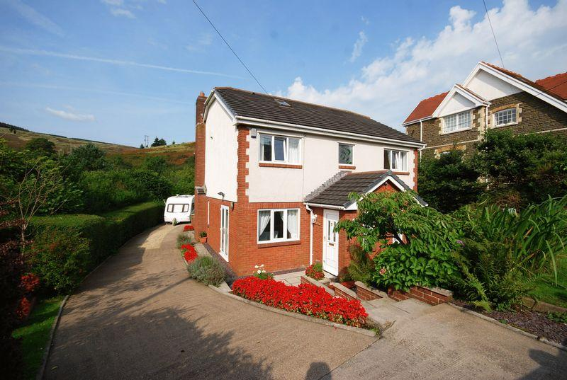 4 Bedrooms Detached House for sale in Holly Oaks, Varteg Row, Bryn, Port Talbot, SA13 2RF