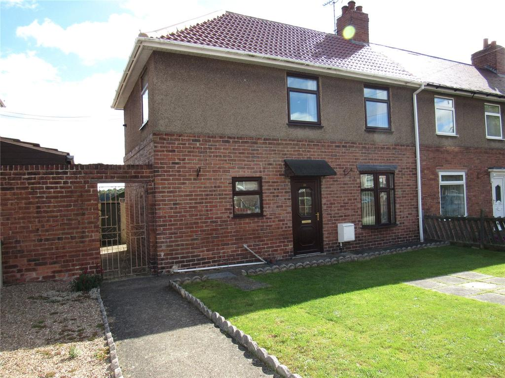 3 Bedrooms Semi Detached House for sale in Devonshire Drive, Langwith, Nottinghamshire, NG20