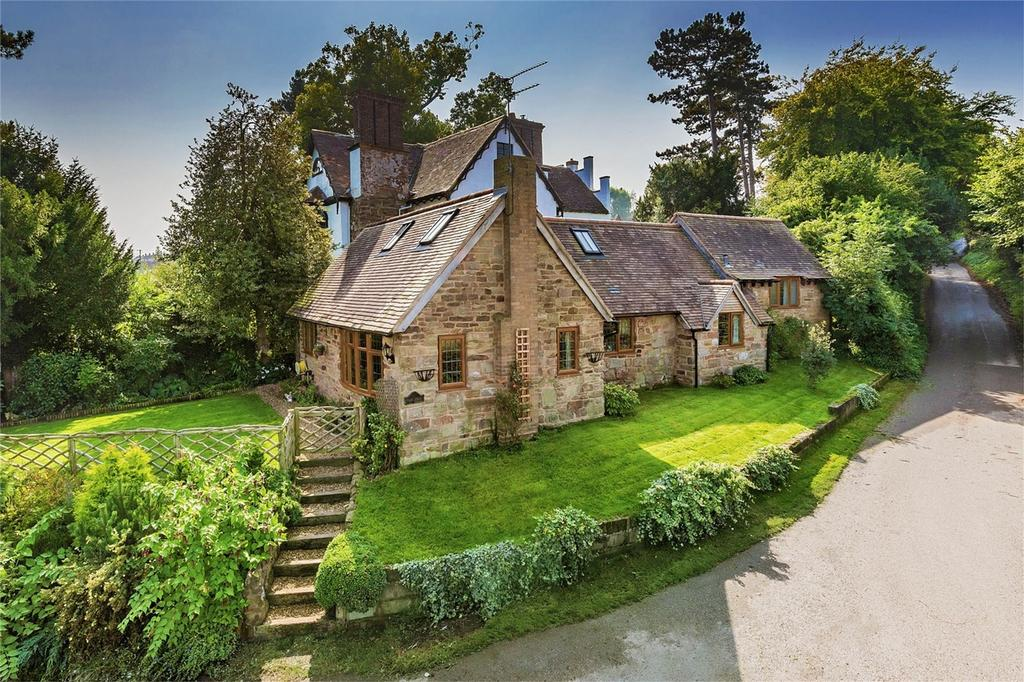 4 Bedrooms Cottage House for sale in Tall Trees, Vicarage Lane, Highley, BRIDGNORTH, Shropshire