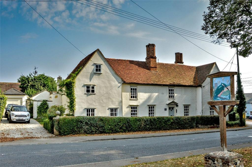 4 Bedrooms Semi Detached House for sale in The Manor House, High Street, Great Sampford, Nr Saffron Walden