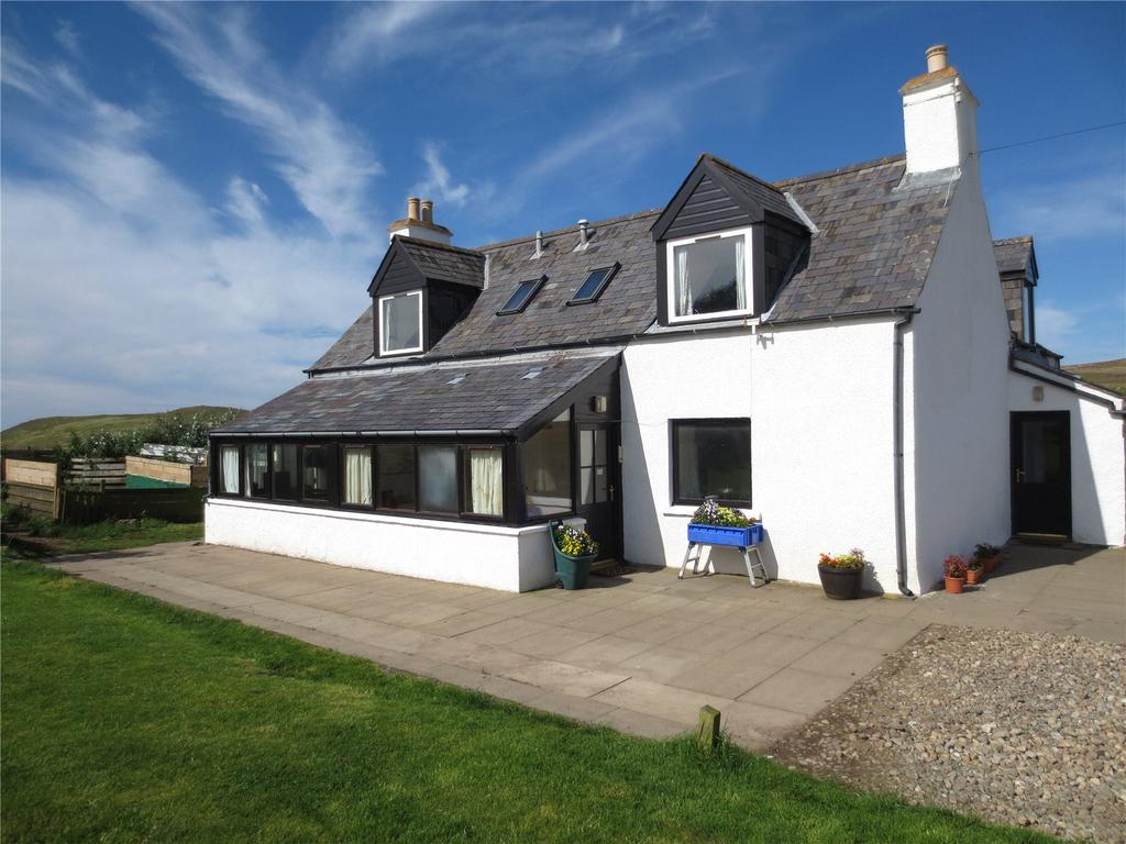 3 Bedrooms Detached House for sale in Smithy House, Oldshoremore, Kinlochbervie, Highland, IV27