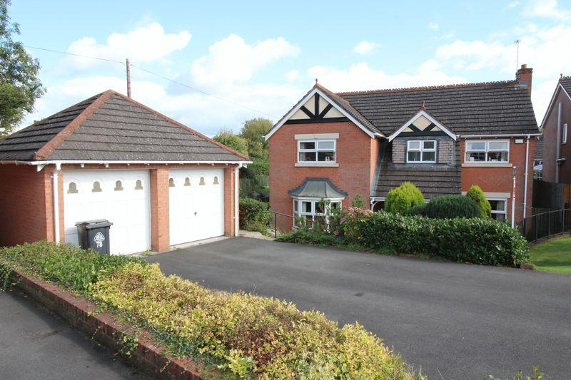 4 Bedrooms Detached House for sale in Hillcrest, Ellesmere
