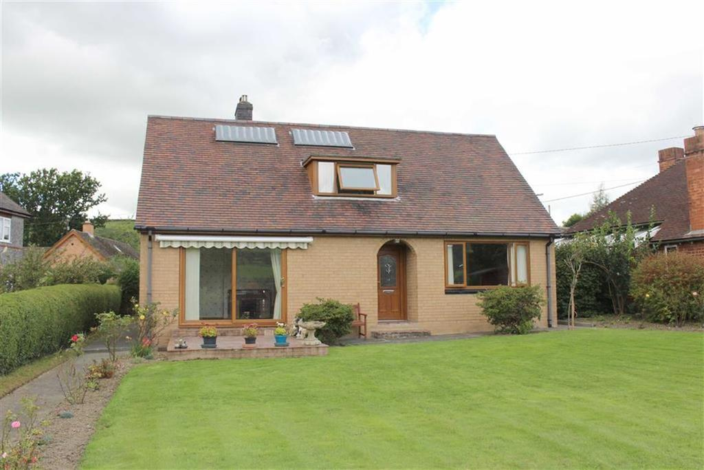 4 Bedrooms Detached Bungalow for sale in Arosfa, Old Canal Road, Newtown, Powys, SY16