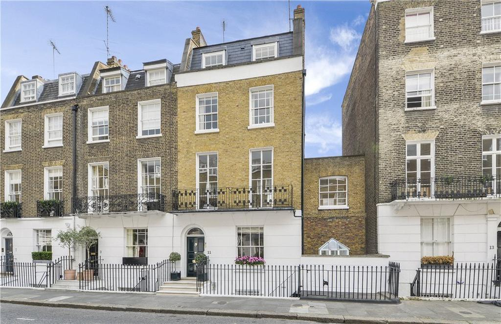5 Bedrooms Terraced House for sale in South Terrace, Knightsbridge, London, SW7