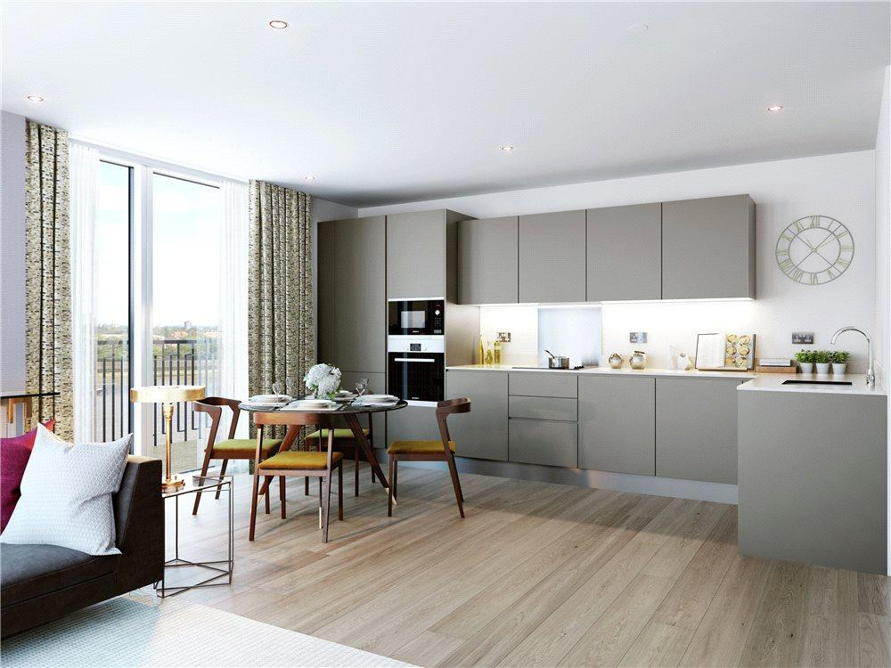 2 Bedrooms Flat for sale in Royal Arsenal Riverside, Woolwich, London, SE18