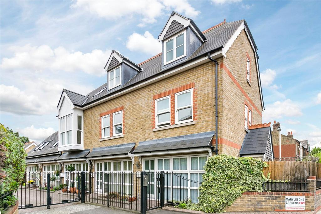 3 Bedrooms End Of Terrace House for sale in Marylebone Gardens, North Sheen, Richmond, Surrey