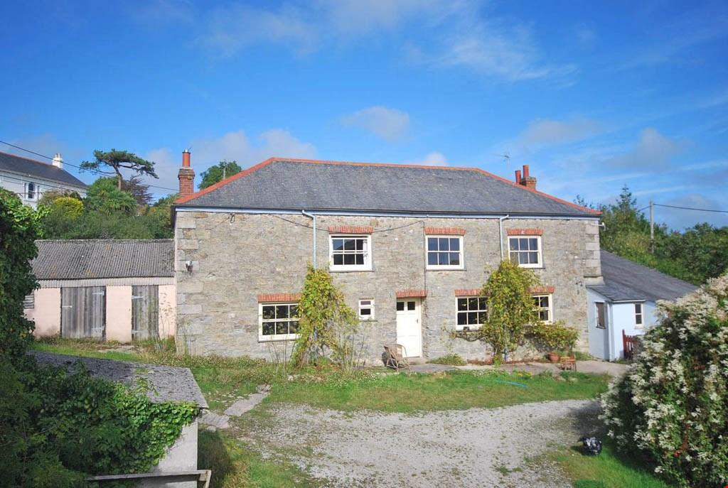 4 Bedrooms Farm House Character Property for sale in Flushing, Falmouth, Cornwall, TR11