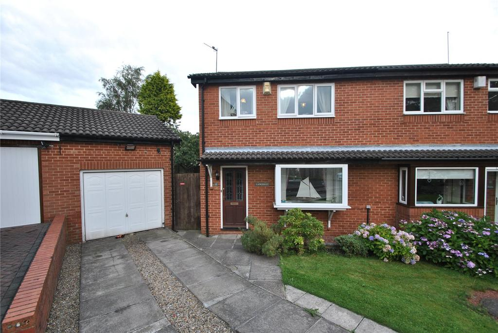 3 Bedrooms Semi Detached House for sale in Highfield Drive, Chilton Moor, Houghton le Spring, DH4