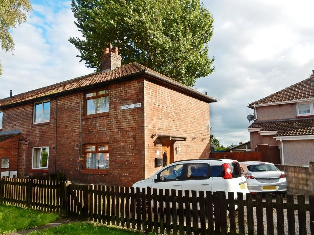 2 Bedrooms End Of Terrace House for sale in Newtown Close, Carlisle