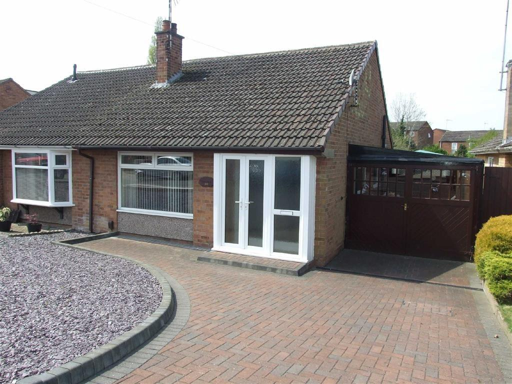 2 Bedrooms Semi Detached Bungalow for sale in Harrison Crescent, Bedworth