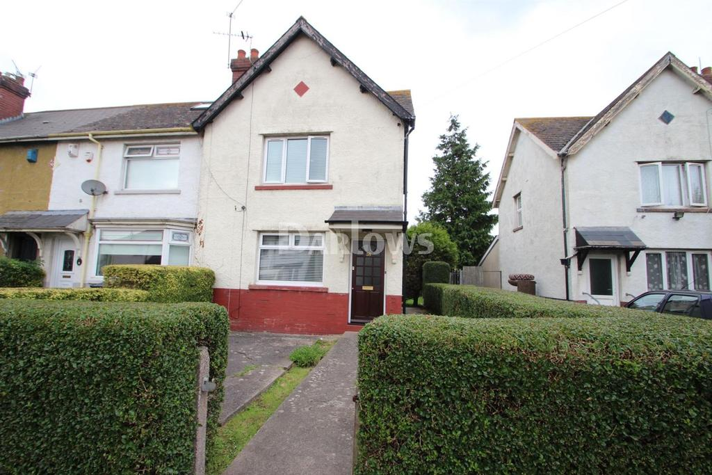 2 Bedrooms End Of Terrace House for sale in Kenmuir Road, Tremorfa, Cardiff