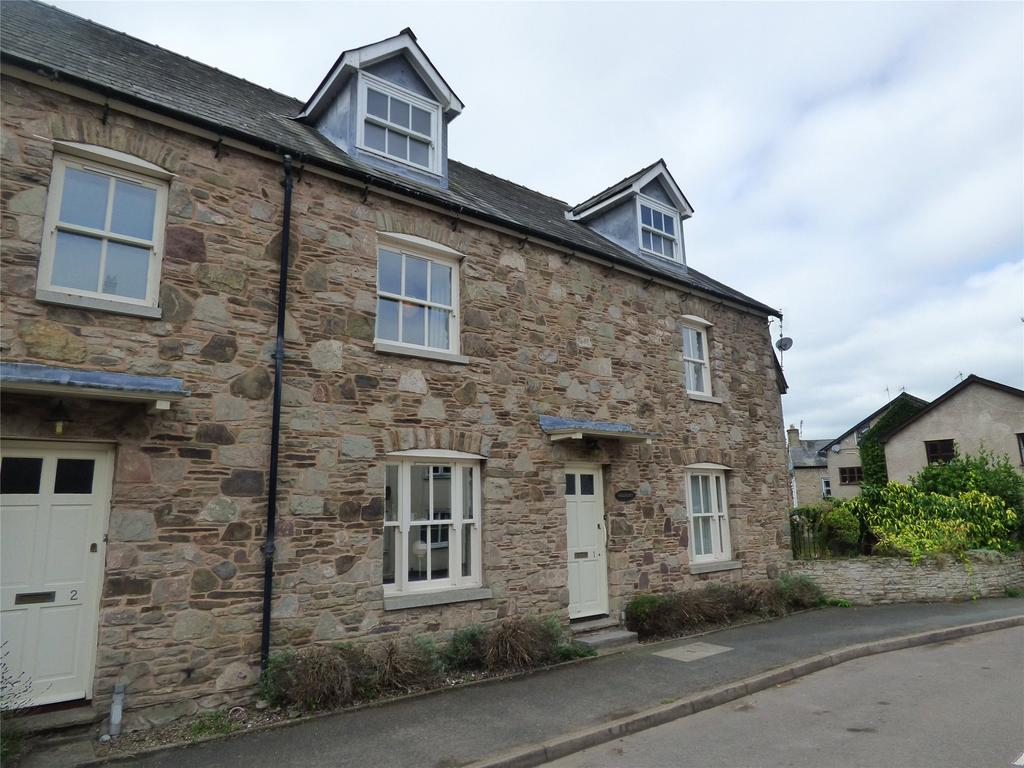 4 Bedrooms End Of Terrace House for sale in Chancery Court, Heol-y-Dwr, Hay-on-Wye, Hereford