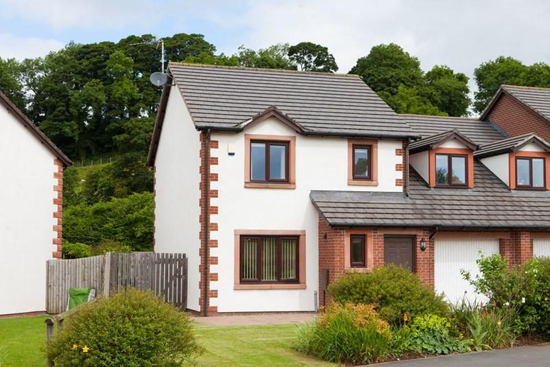4 Bedrooms Semi Detached House for sale in 7 Otters Holt, Culgaith, Penrith
