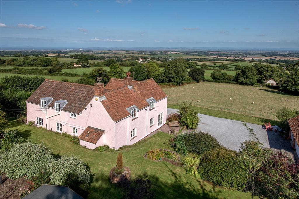 5 Bedrooms Detached House for sale in Over Stowey, Bridgwater, Somerset