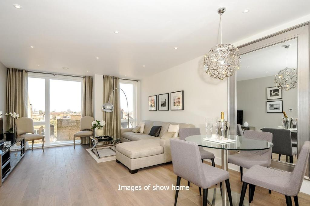 1 Bedroom Flat for sale in Carlyle Court, Wimbledon Park Road, Southfields