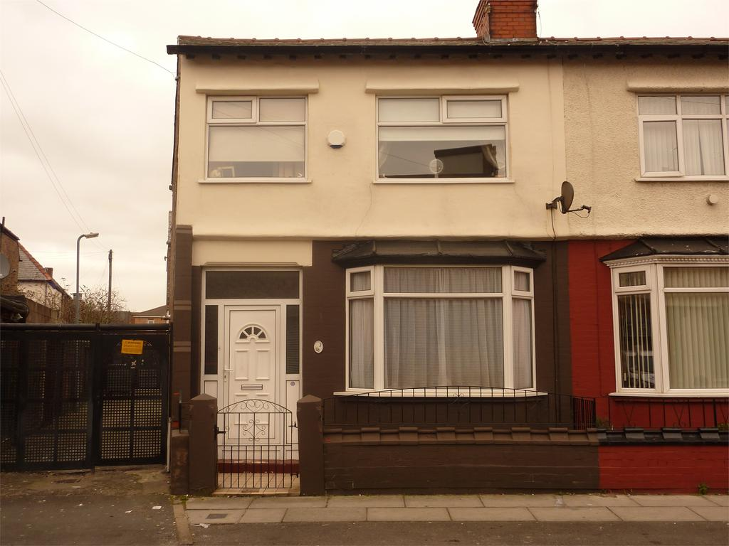 3 Bedrooms End Of Terrace House for sale in Regina Road, Walton, Liverpool, Merseyside, L9