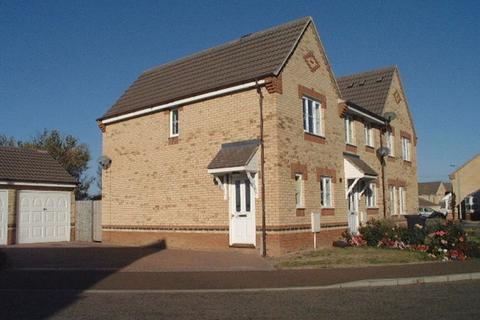 2 bedroom end of terrace house to rent - Fieldfare Drive, Stanground, PETERBOROUGH, PE2