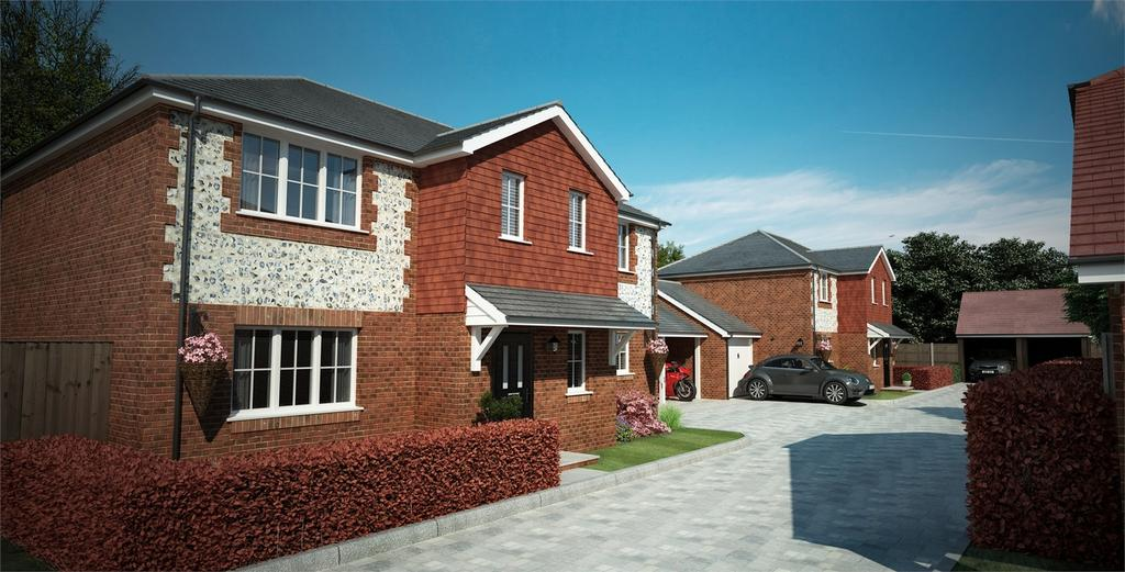 4 Bedrooms Link Detached House for sale in Four Marks, Alton, Hampshire