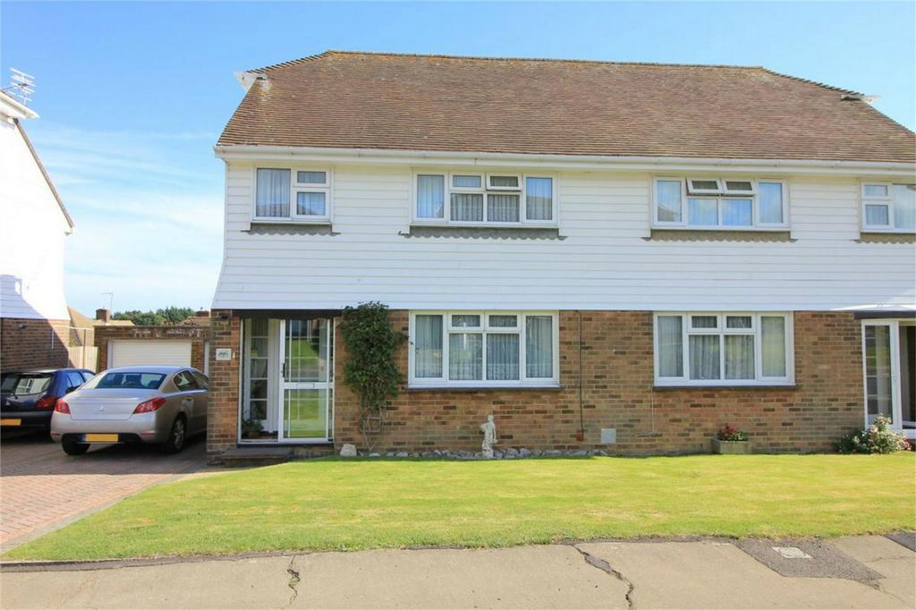 3 Bedrooms Semi Detached House for sale in 65 Heathlands, WESTFIELD, East Sussex