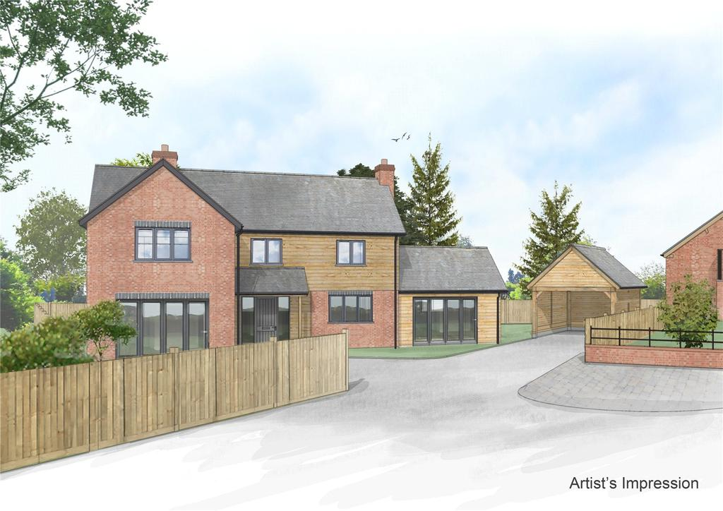 4 Bedrooms Detached House for sale in Forden, Welshpool, Powys