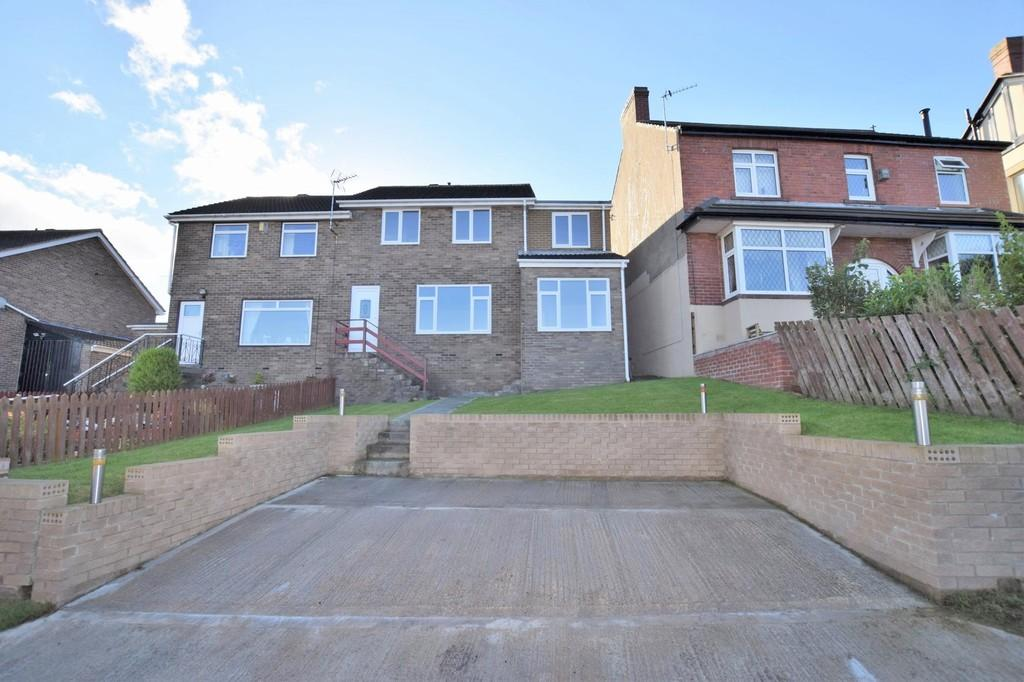 4 Bedrooms Semi Detached House for sale in Iveston Terrace, Shield Row, Stanley