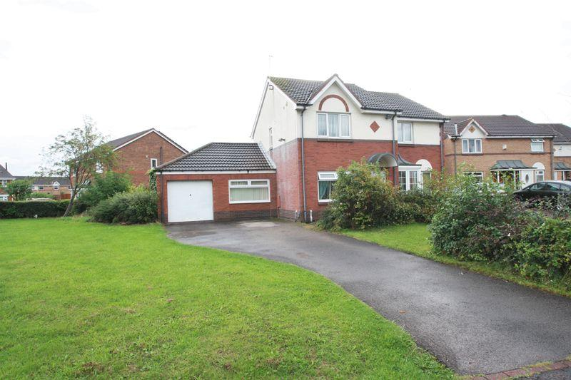 3 Bedrooms Semi Detached House for sale in Whisperdale Court, Pallister Park, Middlesbrough, TS3 8RN