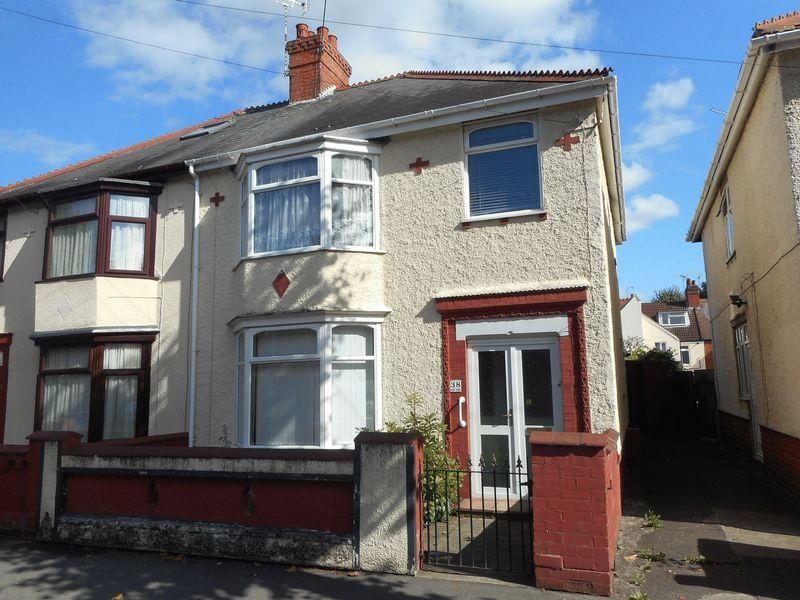 3 Bedrooms Semi Detached House for sale in Marlborough Road, Nuneaton