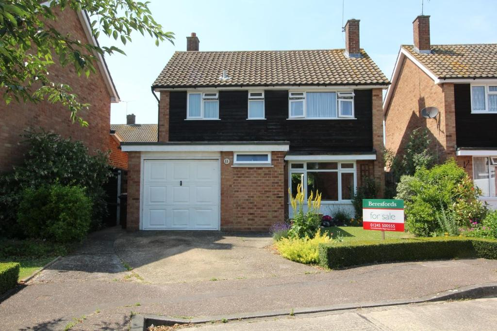 3 Bedrooms Detached House for sale in Spalding Way, Great Baddow, Chelmsford, Essex, CM2