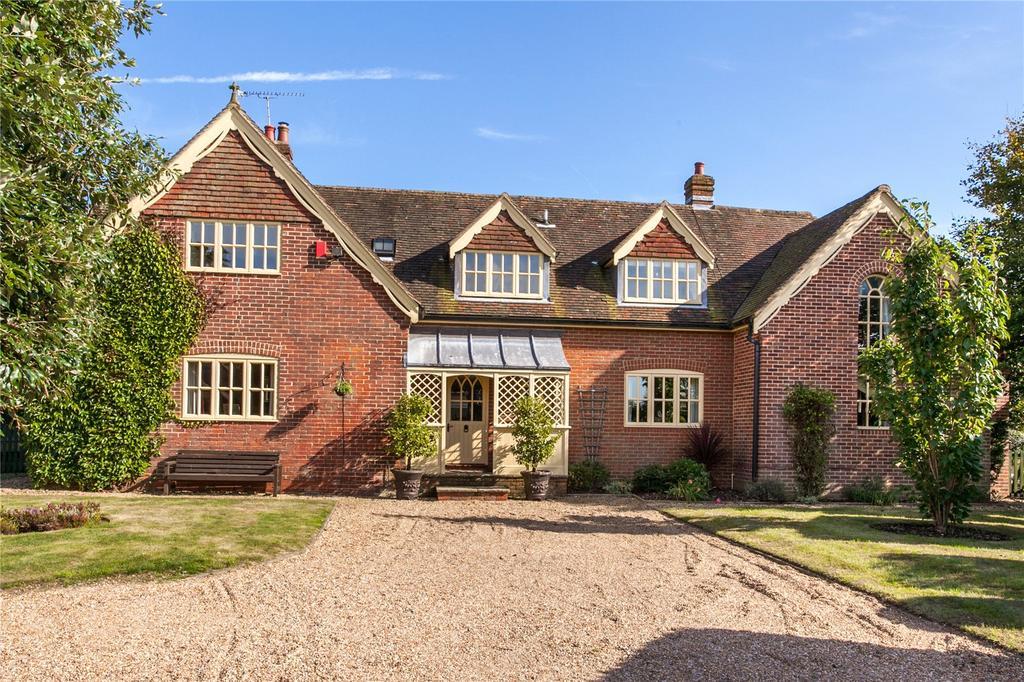 5 Bedrooms Detached House for sale in Woodlands, Nr Bramdean, Alresford, Hampshire, SO24
