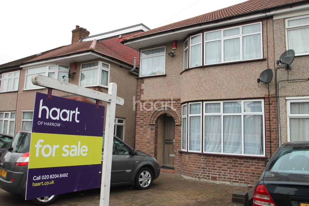 3 Bedrooms Semi Detached House for sale in Elgin Avenue, Harrow, HA3