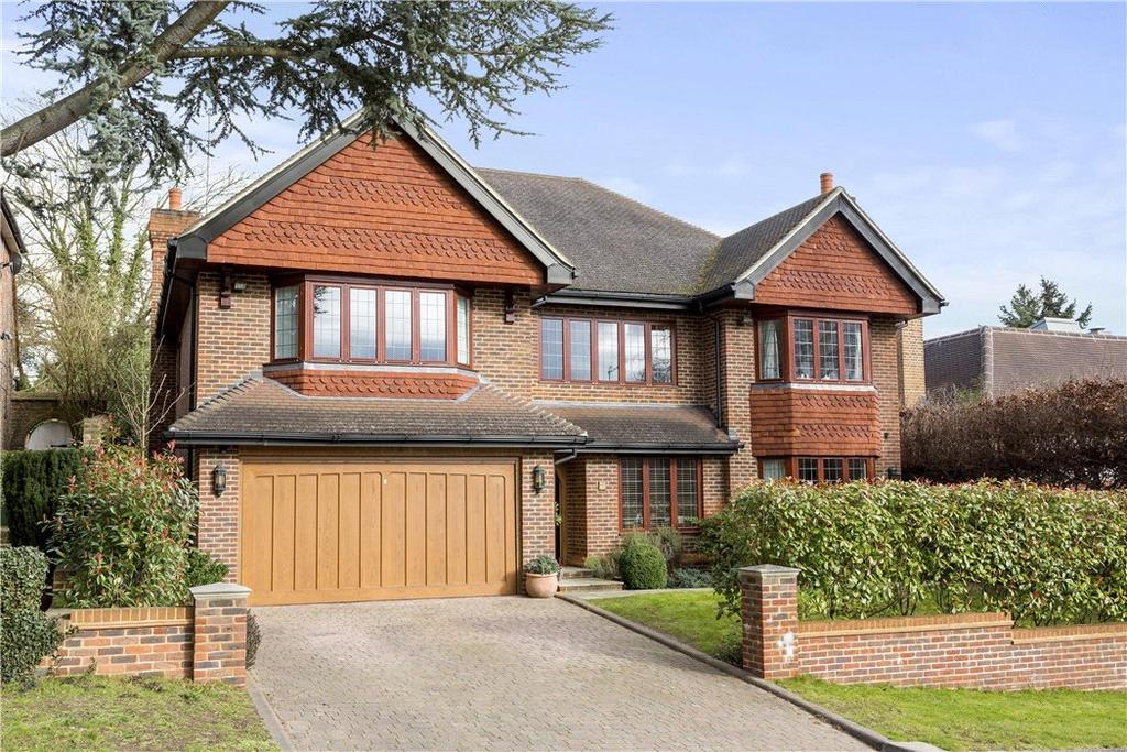6 Bedrooms Detached House for sale in Mizen Close, Cobham, Surrey, KT11