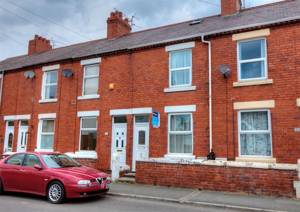 2 Bedrooms Terraced House for sale in Prices Lane, Rhosddu, Wrexham, LL11